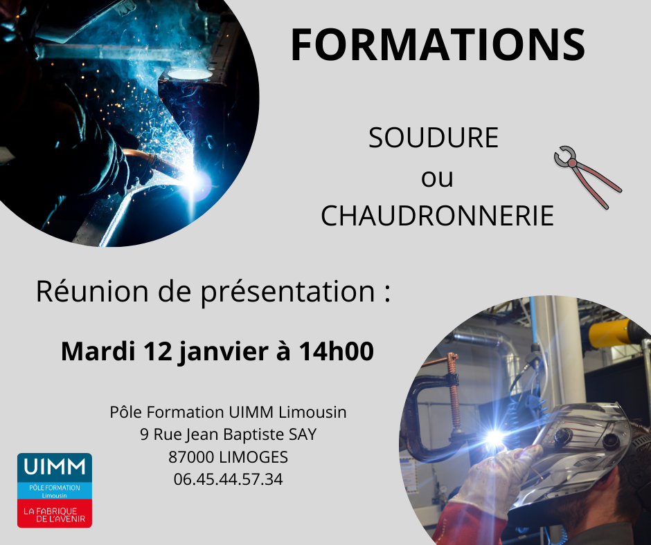 Affiche formations